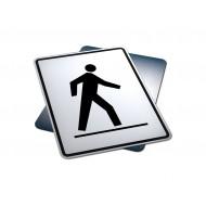 Left Side Pedestrian Crosswalk