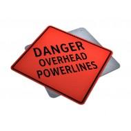 Danger Overhead Powerlines