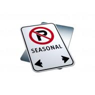 No Parking - Seasonal