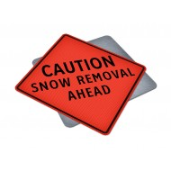 Caution Snow Removal Ahead
