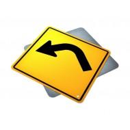 Single Left Turn Curve