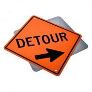 Detour Ahead Right