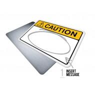 Custom Caution w/Message