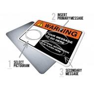 Custom Warning w/Pictogram