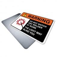 Do Not Watch, Arc Welder at Work