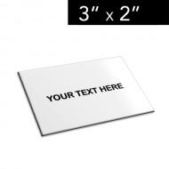 "3"" x 2"" Lamacoid Tag / Nameplate"